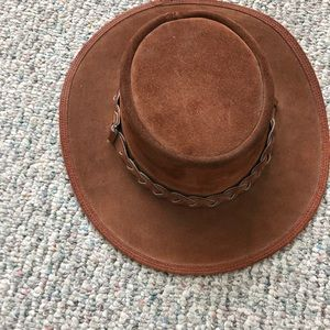 Overlander Leather hat